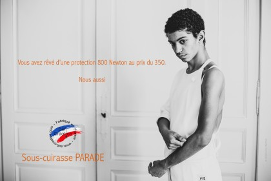 "Cuirasse de protection Dame Defi ""Parade"" 800N FIE"
