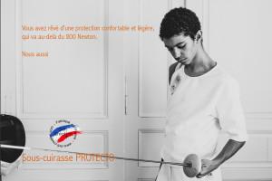 "Cuirasse de protection Dame Defi ""Protecto"" 800N FIE"