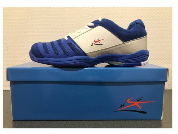 """Chaussures Escrime diffusion """"MG"""" Bleue"""